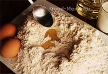 Тесто для пельменей - ингредиенты