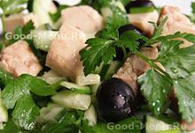 Рецепты постных блюд салат