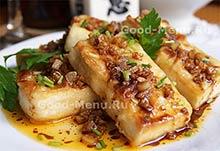 Рецепты постных блюд тофу