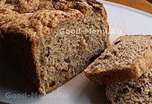 Постный черный хлеб