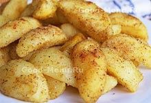 Постное блюдо из картошки