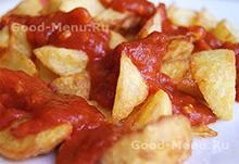 Постное блюдо картошка