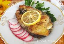 Рецепт из рыбы на Масленицу