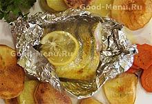 Постные блюда из рыбы