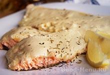 Блюда на Масленицу - форель