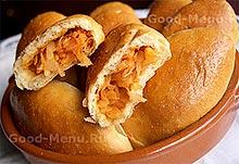 Рецепт на Масленицу пирожки с капустой в духовке