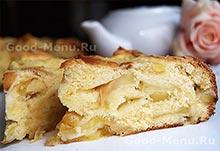 Рецепт на Масленицу яблочный пирог