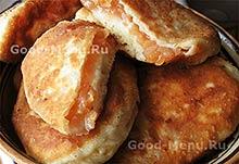 Пирожки с вареньем на Масленицу
