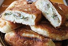 Пирожки с картошкой на Масленицу