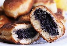 Блюда на Масленицу пирожки с маком