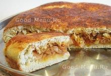 Рецепт на Масленицу пирог с капустой
