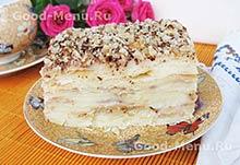 Рецепты на Масленицу торт Наполеон