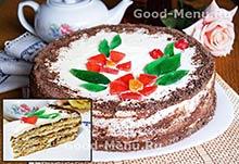 Торт на Масленицу