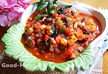 Постное блюдо рагу