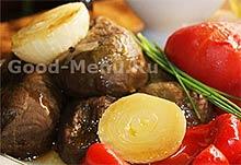 Печеные овощи на Масленицу