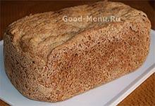 Готовый черный хлеб