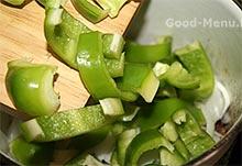 Салатный перец для хашламы