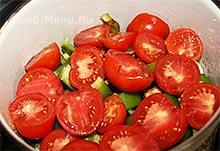 Хашлама с помидорами