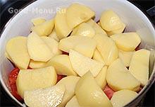 Хашлама с картошкой