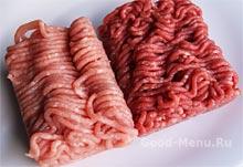 Рецепт люля-кебаб - мясной фарш