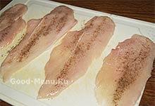 Куриные отбивные - солим и перчим