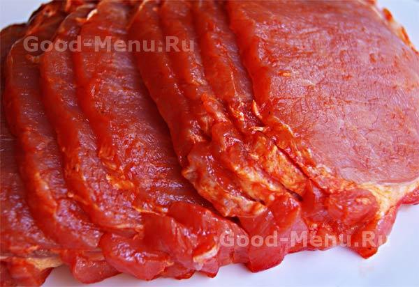маринованная свинина