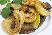 Домашние блюдо из печени