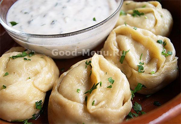 Манты вкусные и сочные рецепт с фото пошагово