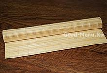 Бамбуковый коврик для суши