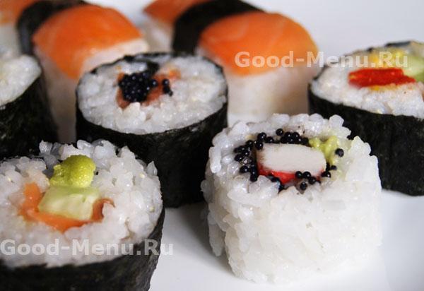 Постные роллы (суши-роллы) 6 рецептов с фото пошагово. Как 62