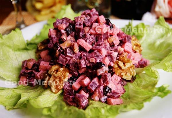 рецепты салатов со свеклой вареной с фото простые