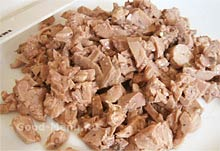Салат из печени трески - шаг 5