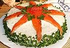 Из крапивы Рулет из крапивы с начинкой из помидор с сыром, блюда с фото