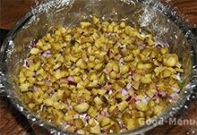 Салат Грибная поляна (полянка) с шампиньонами - рецепт с пошаговыми фото от
