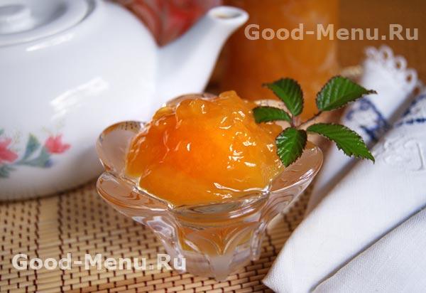 персиковый джем рецепт с фото