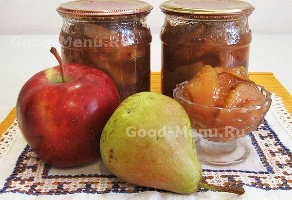 рецептрецепт повидла из айвы повидла из яблок и груш