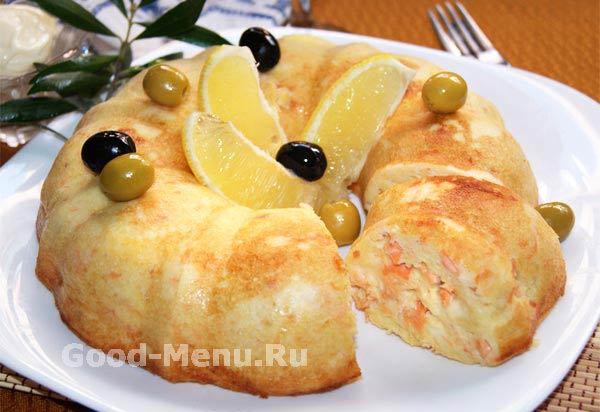 Рецепт с фото, картофельное суфле
