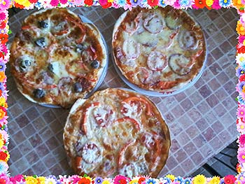 Как сделать пиццу из слоеного теста фото 825