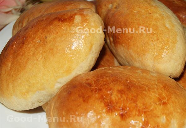 дрожжевые пироги в духовке рецепты с фото