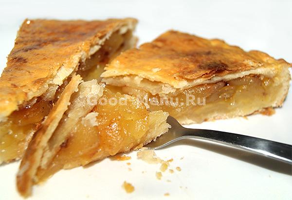 Американский яблочный пирог - рецепт