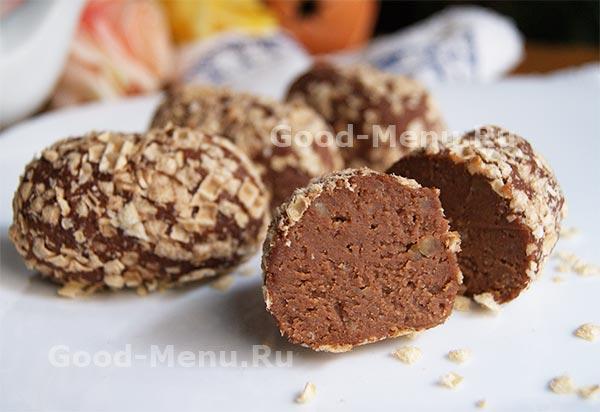 пирожное картошка рецепт из песочного печенья