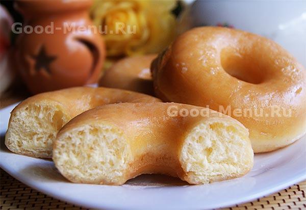 Домашние пончики донатс, рецепт с фото