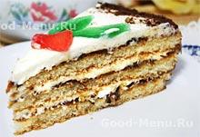 Крем для бисквитного торта рецепта