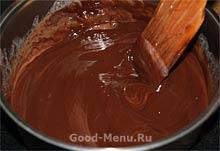 Шоколадный гоммаж для торта