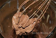 Шоколадный крем для торта прага