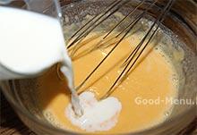 Рецепт торта с печеньем и заварным кремом