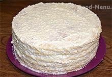 Простой торт из творога