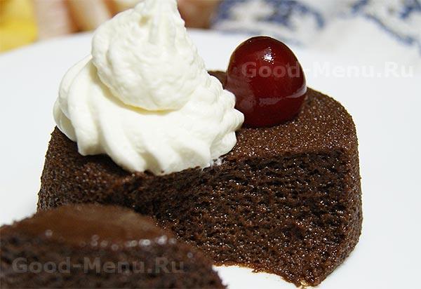 Шоколадный пудинг - рецепт