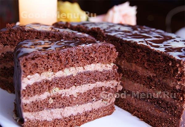 выпечка рецепты пражский торт с фото