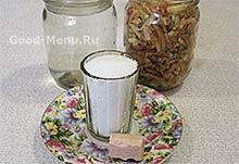 Ингредиенты для яблочного уксуса